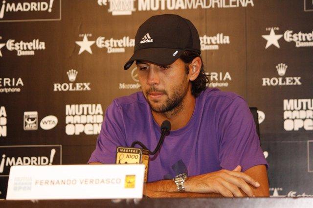 Fernando Verdasco En El Masters De Madrid