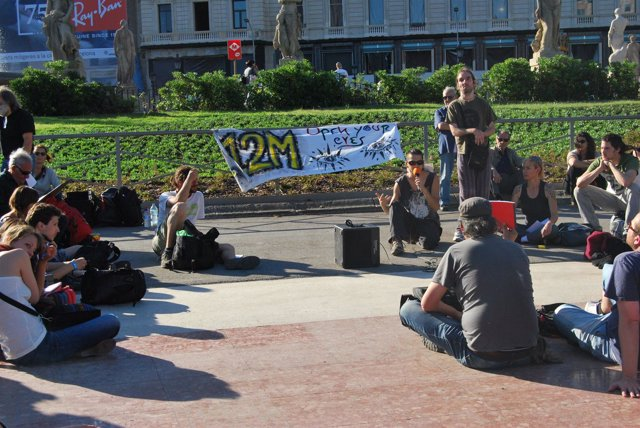 Conmemoración Del Primer Aniversario Del Movimiento 'Indignado'