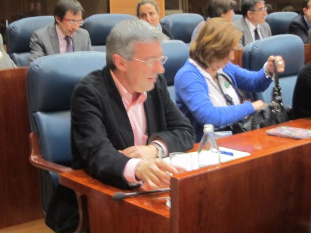 Gregorio Gordo En La Asamblea De Madrid