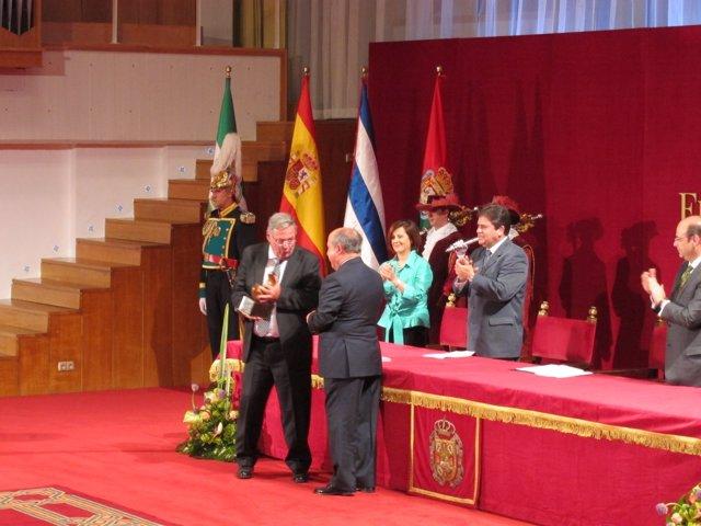 Acto De Entrega Del VIII Premio Lorca