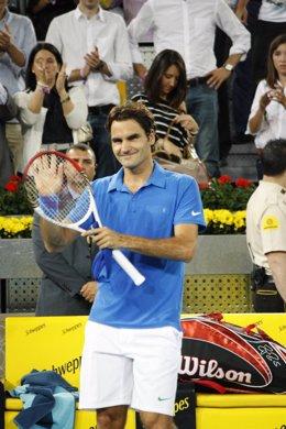 Roger Federer Tras Imponerse A Ferrer En Madrid
