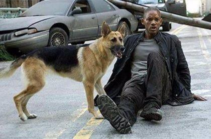 Will Smith es el único superviviente humano en 'Soy leyenda'