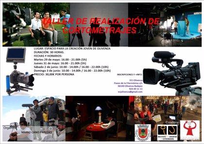 El Espacio para la Creación Joven de Olivenza acoge un taller de realización de cortometrajes