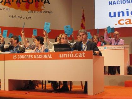 UDC reivindica la autodeterminación y Vila d'Abadal retira sus enmiendas independentistas