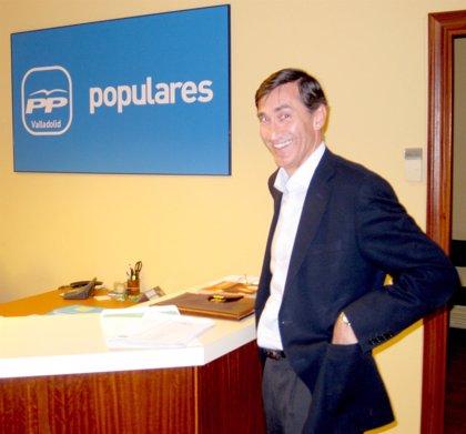"""De los Mozos aspira a liderar el PP de Valladolid para """"combatir la endogamia política"""" y """"el despotismo ilustrado"""""""