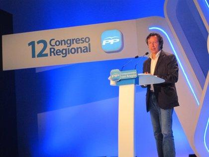 """Floriano insta a militantes del PP a defender con orgullo las reformas y dice al PSOE que """"lecciones, las justas"""""""