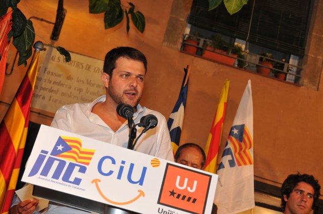 Gerard Figueras, JNC / Ciu