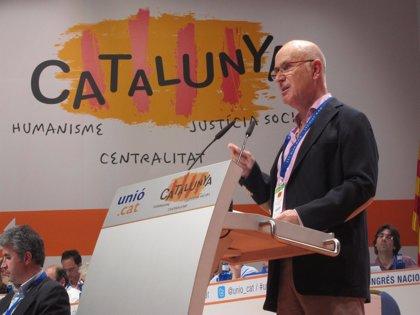 """Duran se defiende de las críticas de CDC, partido """"más importante de la historia"""" de Cataluña"""