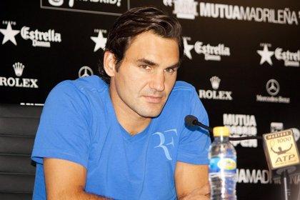 """Tenis/Madrid.- Federer: """"No sabía lo del número dos"""""""