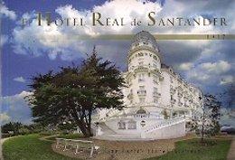 Portada Del Libro 'El Hotel Real De Santander. 1917'