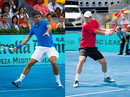 Tenis/Madrid.- (Previa) Federer busca el número dos mundial ante el agresivo Berdych