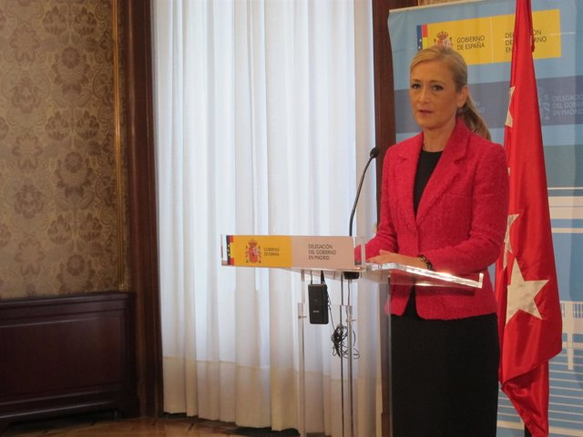 Cristina Cifuentes, Delegada Del Gobierno En Madrid
