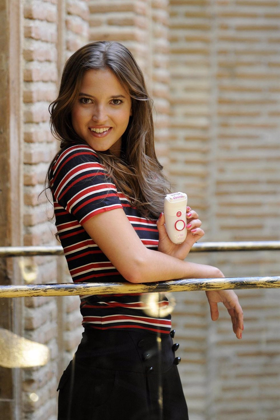 La actriz Ana Fernández