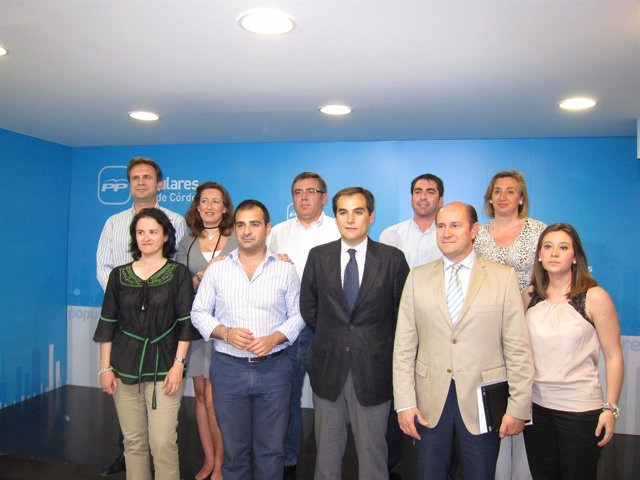 Reunión Del Consejo De Alcaldes Del PP De Córdoba
