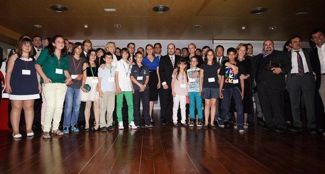 Cospedal Entregra Premios Aje Albacete