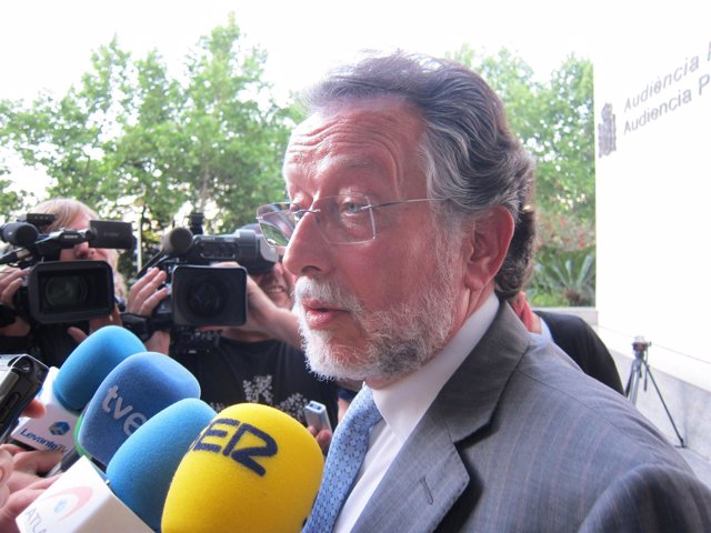 Alfonso Grau Tras Declarar Ante El Juez