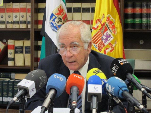 Julio Márquez De Prado, Presidente Del Tsjex