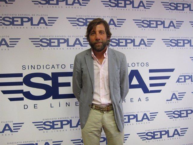 Portavoz Sepla Air Europa, Luis Crepí