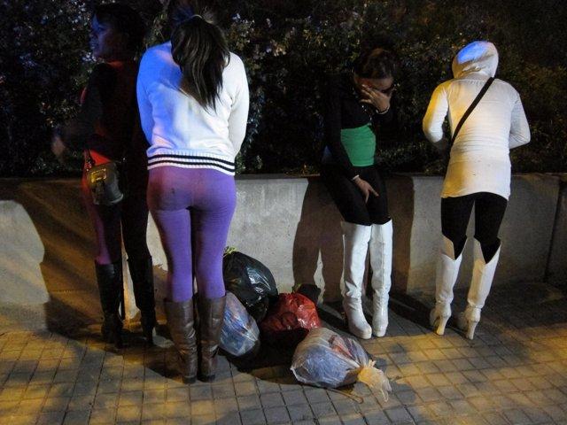 Redada, Prostitutas, Les Corts, Barcelona
