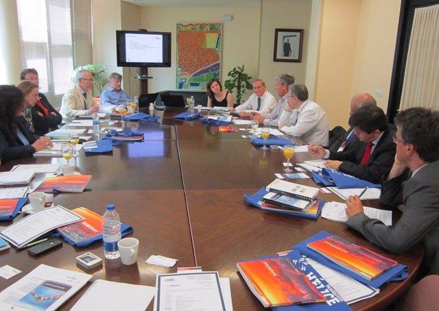 Reunión De Cluster Aeronúaticos Europeos En ADM Sevilla