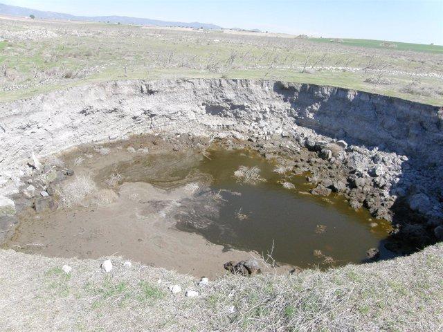 Afloramiento Agua En El Rincón , Daimiel
