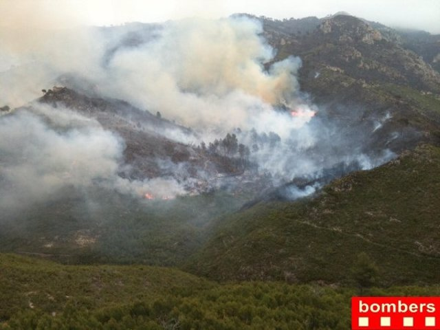 Incendio En Rasquera