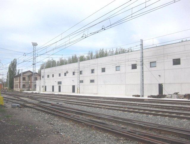 La Nueva Base De Mantenimiento De Infraestructuras De Venta De Baños (Palencia).