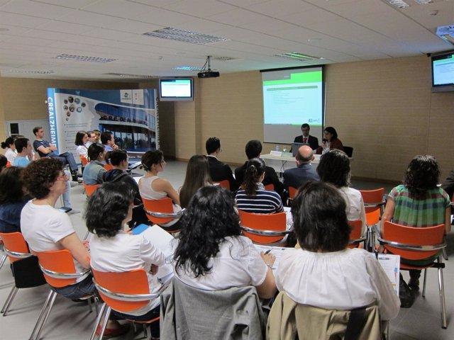Presentación De Proyectos En El CRE Del Alzheimer En Salamanca