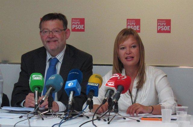 Ximo Puig Y Leire Pajín