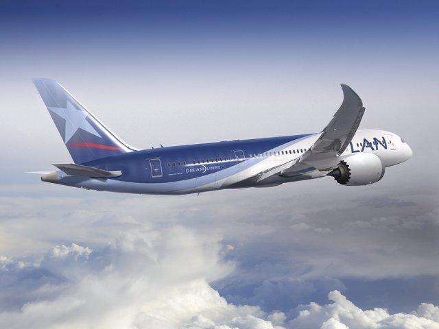 Imagen Del Boeing 787 Dreamliner De LAN