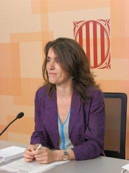 La Secretaria De Empleo De La Generalitat, Esther Sànchez