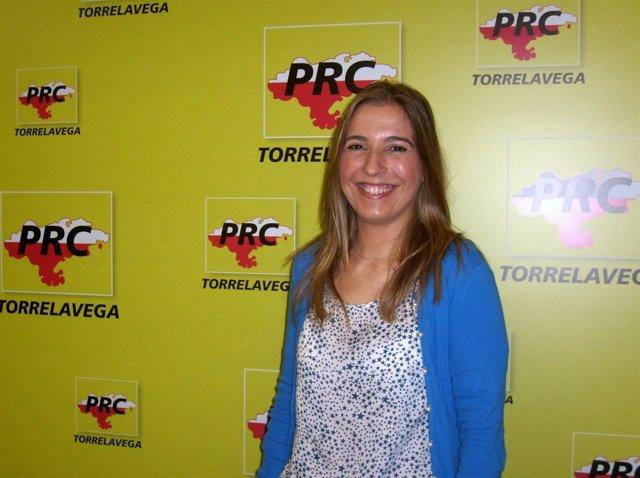 Juncal Herreros, Edil Del PRC En Torrelavega