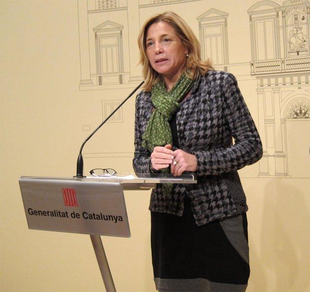 La Vicepresidenta De La Generalitat, Joana Ortega