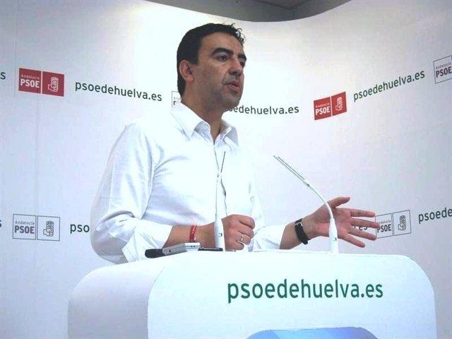 El Portavoz Del Grupo Socialista En El Parlamento De Andalucía, Mario Jiménez.
