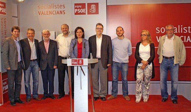 Alcaldes Y Representantes Socialistas En La Emtre
