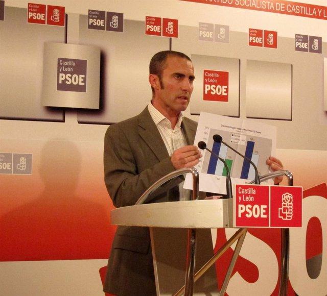 El Secretario De Política Económica Del PSOE, Julio López
