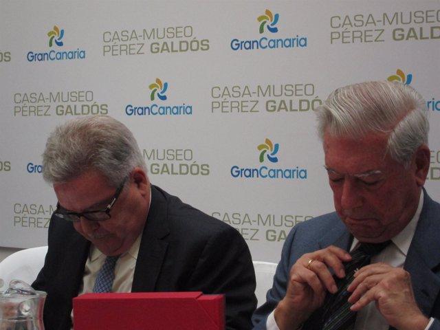 José Miguel Bravo De Laguna Y Mario Vargas Llosa