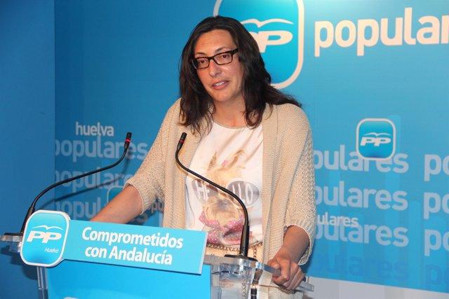 La Parlamentaria Andaluza Del PP Y Alcaldesa De Valverde, Dolores López.