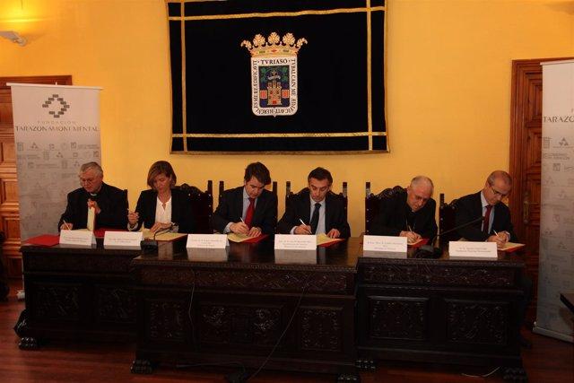 Firma Del Acuerdo Este Viernes En Tarazona (Zaragoza)