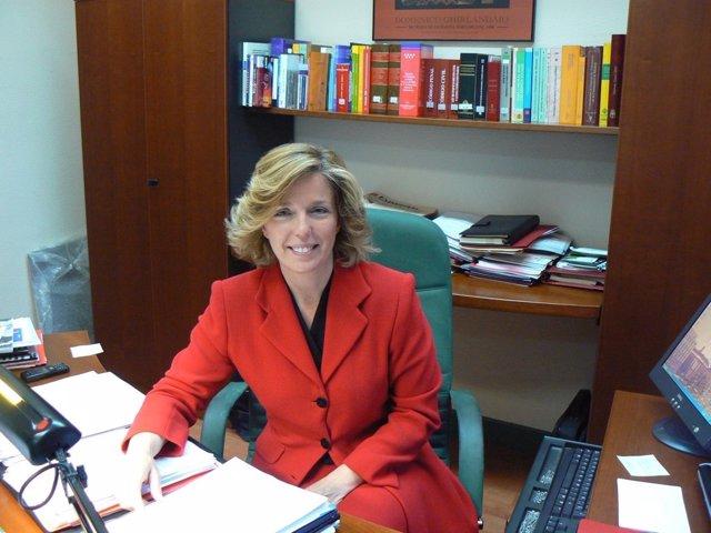 Regina Plañiol, Consejera De Presidencia Y Justicia