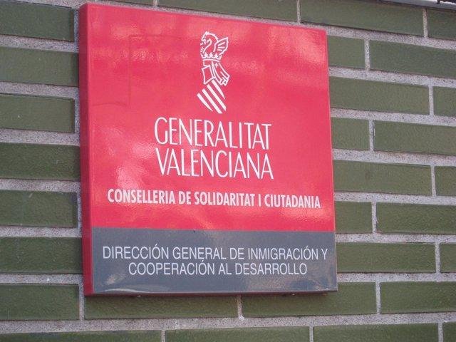 Sede De La Dirección General De Inmigración Y Cooperación Al Desarrollo.