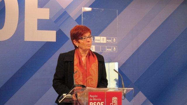 La Portavoz Del Grupo Parlamentario Socialista En La Asamblea Regional