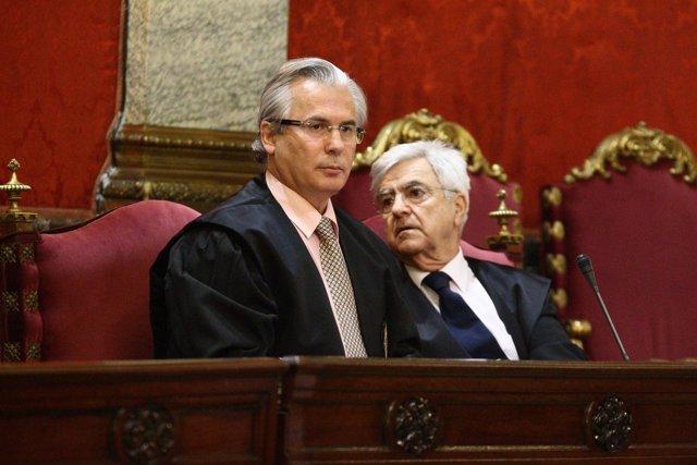 El Juez Baltasar Garzón En El Juicio Del Supremo