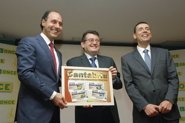 Presentación Cupones De La ONCE Dedicados A Cantabria