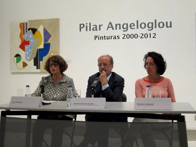 Presentación De La Exposición 'Pilar Angeloglou. Pinturas 2000-2012'