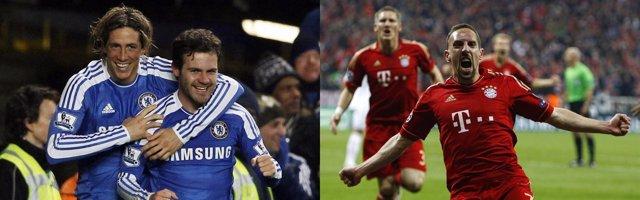 Montaje Chelsea Bayern Munich