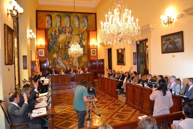 Pleno Municipal De La Diputació De Lleida