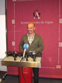 Jorge Espina En Rueda De Prensa.
