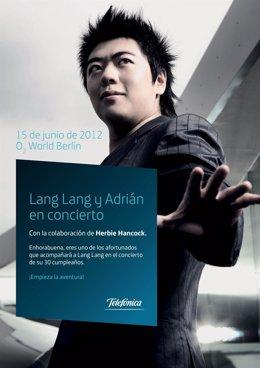 Cartel De Lang-Lang Y El Pianista De Paiporta Adrián