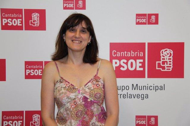 Lidia Ruiz, Concejala Del PSOE En El Ayuntamiento De Torrelavega